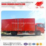Dongfeng Tianjin 4X2 180HP 7 da carga útil da caixa toneladas de caminhão da carga