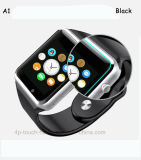 El sedentarios más baratos recuerdan el reloj elegante de Bluetooth del deporte con la cámara A1