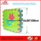 Puzzle EVA Mat de 30 * 30 * 1cm & Animal & Vehical Design Mat