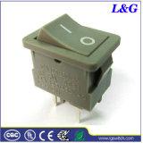 Interruttore basculante dell'attuatore del tasto di posizione di potere 12A Dpst Spst 2 micro (SS21)