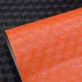 3D次元の質袋のための人工的なPUののどの装飾の革