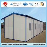 Casa de acero ligera prefabricada flexible