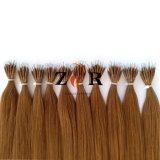 自由に自由に取除くことをもつれさせるヨーロッパのRemyのNanoリングの人間の毛髪の拡張