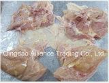 Congelado Halal de Pechuga de pollo con piel