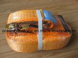 Ceinture de lancer de cliquet en couleur orange