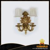 Klassische Messinggewebe-Lampenschirm-Wand-Lampe (FB-65003-2)