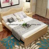 Твердые деревянные кровати современные двуспальные кровати (M-X2346)