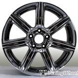 20 polegadas prateadas Jantes carro preto para todos os carros