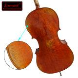 Violoncelle antique 100% fabriqué à la main à niveau élevé professionnel d'instrument de musique