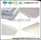 Clip acústica perforados en el techo con ISO9001 para oficina
