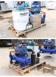 1 tonnellata per macchina del sistema di fabbricazione di ghiaccio del fiocco dell'acqua di mare di giorno per il peschereccio