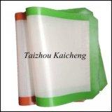 Constructeur de couvre-tapis de traitement au four de fibre de verre de silicones se vendant directement