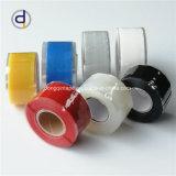 Nastro adesivo impermeabile di fusione del nastro di riparazione del nastro di silicone di Dq di auto impermeabile nero della gomma