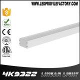 Lumière pendante élevée linéaire de la lumière DEL de compartiment de DEL pour le marché