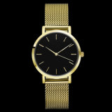 Form konzipieren eben Quart-Edelstahl-Dame-Armbanduhr