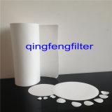 membrana del filtro de 0.2um PVDF para la filtración del aire y del gas