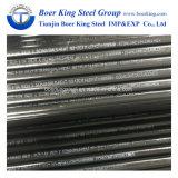 ASTM A106 гр. B черный стальную трубу, Sch 40 16-дюймовый бесшовных стальных трубопроводов / масляный трубопровод / газовый шланг в ASME стандарт