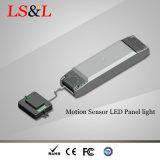 El sensor de movimiento de microondas Squre LED de luz de pantalla plana con Ce& RoHS TUV