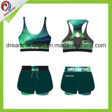 Desgaste de encargo de la yoga de la impresión de la sublimación de la ropa de deportes de la alta calidad para las mujeres