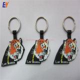 Douane RubberKeychain/Plastic Zacht pvc Keychain