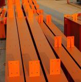 Construction en acier préfabriquée pour la mémoire d'atelier d'entrepôt