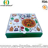 De afgedrukte Witte Doos van de Verpakking van de Pizza/de Witte Doos van de Pizza