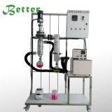 Equipo del vaporizador de la destilación de vacío del camino corto del laboratorio