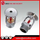 Regaderas estándar verticales y pendientes del aerosol para la lucha contra el fuego