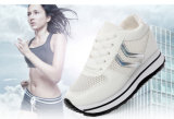 Schoenen van het Platform van de Schoenen Soled van de Vrouwen van de Leveranciers van China de Toevallige Witte Dikke