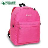 Cheap pratique étudiant personnalisé sac à dos en polyester résistant sac d'école