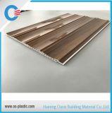 Три канавки деревянный ламинированный ПВХ панели 25см в ширину панели потолка из ПВХ