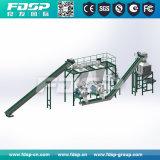 Рециркулированный отходом бумажный завод лепешки шуги с CE/ISO/SGS