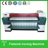 장 다림질 기계 또는 세탁물 Flatwork Ironer 기계 (두 배 롤러)