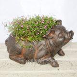 Творческие DIY животных кадки для украшения Вашего дома