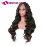 Parrucche piene dei capelli umani del merletto della parrucca profonda dell'onda con i capelli del bambino per le donne di colore