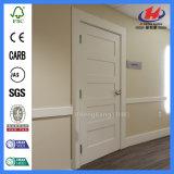 Porte blanche en bois composée moulée de HDF/MDF (JHK-SK05-2)