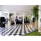 Sistema PVC Dance Floor quadrato della pavimentazione di mostra da vendere