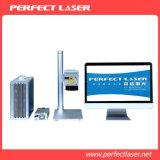 máquina de alta velocidad de la marca del laser de la fibra 10W-50W