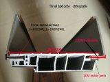 Compuesto de plástico madera interior WPC puerta con marco de puerta