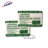 Cr80 Sublimação de tamanho personalizado em branco de PVC cartão chip imprimíveis PVC Smart Card
