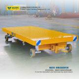大きい積載量の鋼鉄プラットホームの産業トラック