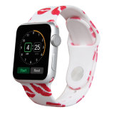 Printing Toilets Transfer Software Silicone Sport Replacement Wristband for APPLE Watch