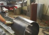 Soldadora linear de MIG del cilindro de gas del LPG