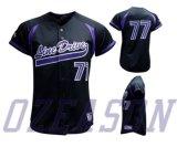Выполненная на заказ вышивка/Twill/печатание снасти резвятся рубашки бейсбола (B026)