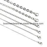 """18-24"""" ожерелья цепи кабеля из нержавеющей стали"""