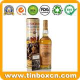 scatola metallica ovale dello stagno del contenitore di vino del metallo dei ricordi 700ml per Vsop