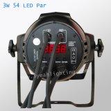 LEIDEN 54*3watts RGBW PARI 64 kan aansteken