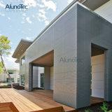 Panel de revestimiento de aluminio de la pared de la fachada del metal