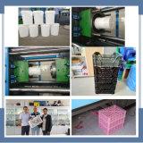 Horizontale volle automatische Spritzen-Maschine für Plastikfrucht Busket