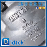 Didtek промышленного использования из нержавеющей стали обратный клапан поворотного механизма